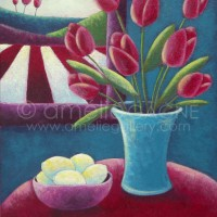 Lemons and Tulips