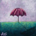 "Day 21 - Parapluie, 3""x3"""