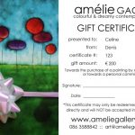 Gift Certificates...!