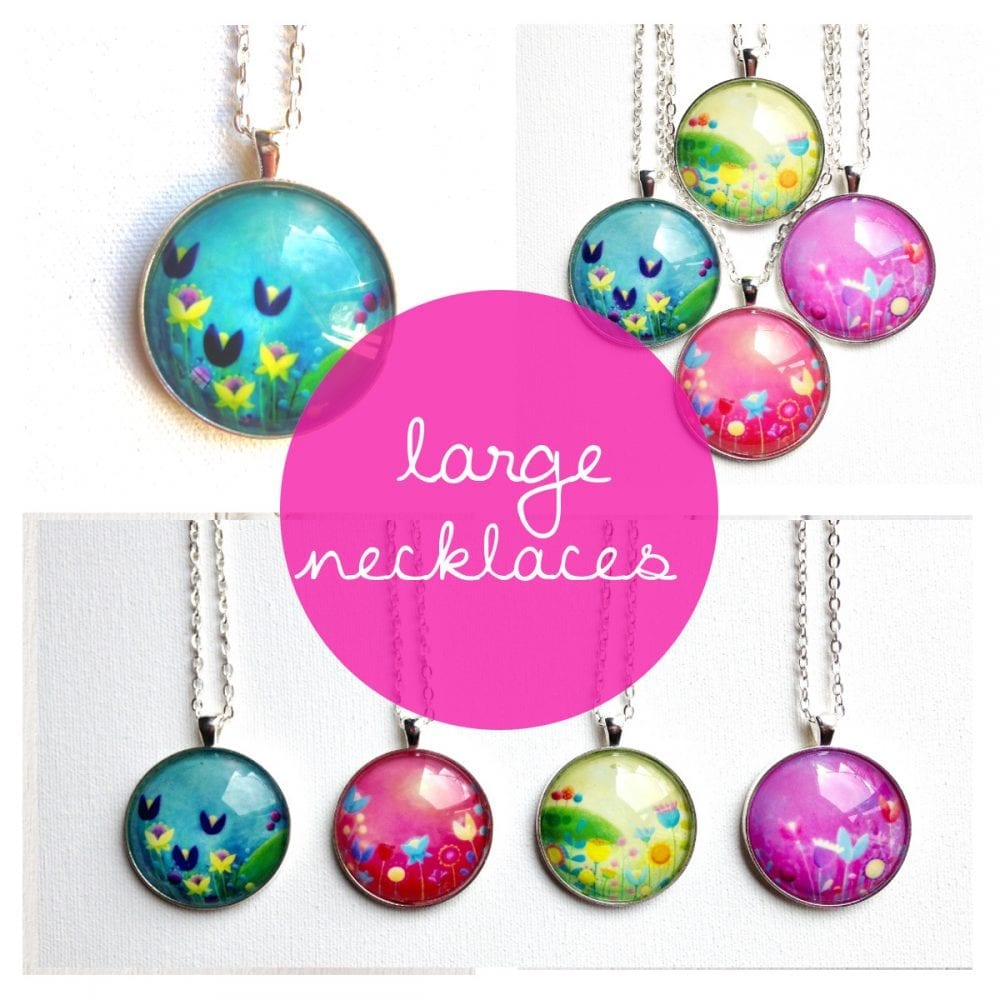 large necklaces (38mm)