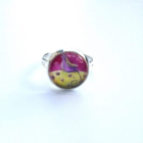 small pink ring