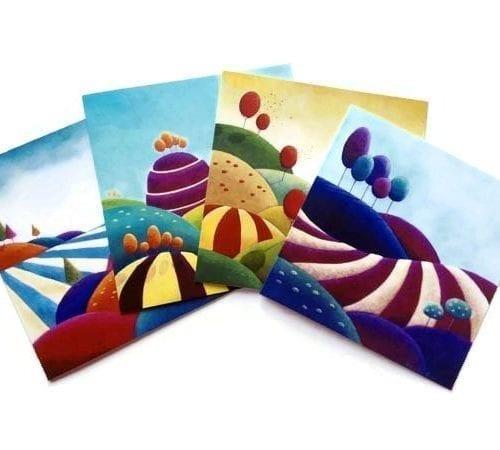 Blank cards