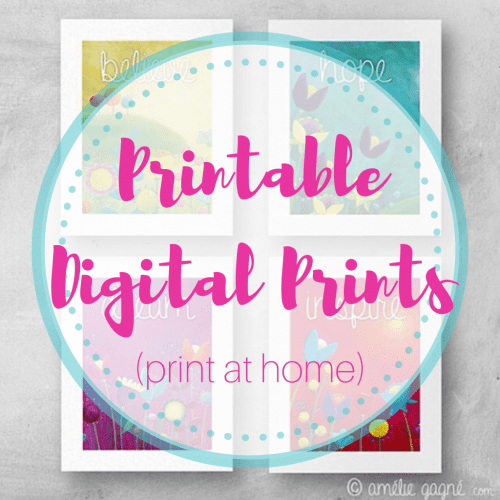 Printable Prints (downloads)