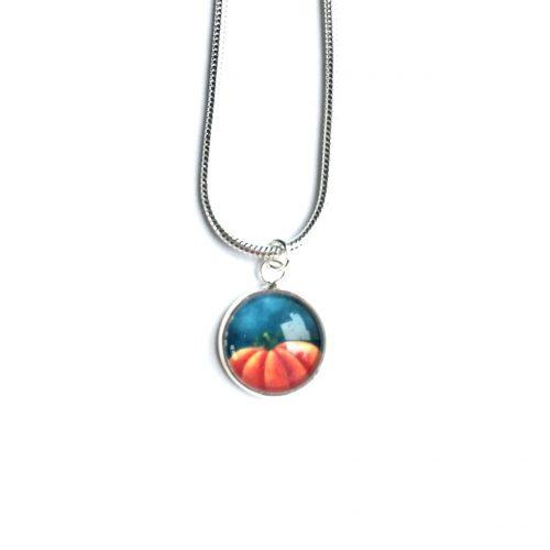 Pumpkin mini necklace