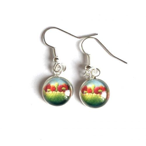 Autumn drop earrings