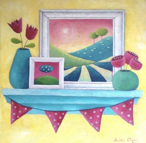 Picture perfect original painting