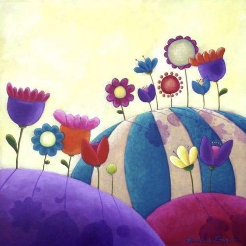 Blooming Meadows Original Painting