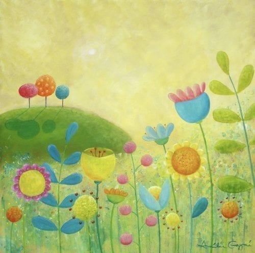 Lemon Meringue Sky Original Painting