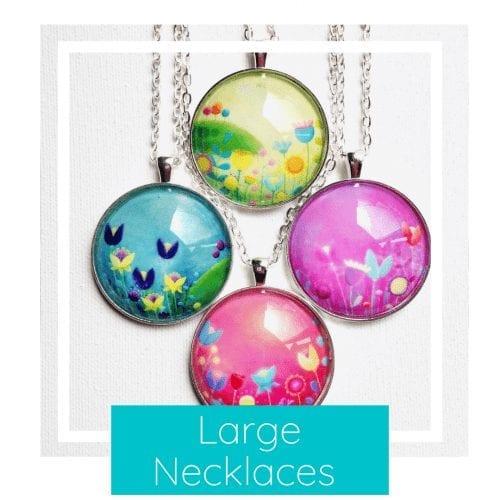 large necklaces (38mm)